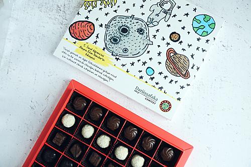 Kahve Dünyası'ndan temin edebileceğiniz Darüşşafaka çikolataları,..