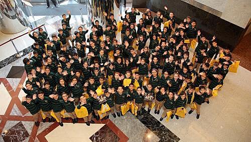 """120 yeni öğrencimiz için İş Bankası Genel Müdürlüğü'nde düzenlenen """"Hoş Geldiniz Etkinliği"""""""